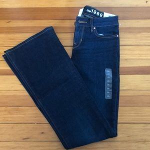 NWT Gap perfect boot jeans 25